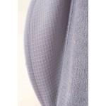 Wafel Bamboe Badjas met Badstof van Binnen,  Licht grijs Dames en Heren model