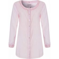 Strand-shirt Roze met Lange Mouwen