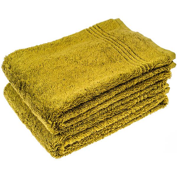Bamboe Handdoek, Groen, 100x50 cm,600gr m2